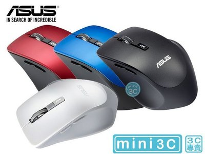 Mini 3C☆ 附發票 ASUS 華碩 WT425 MOUSE 光學滑鼠 無線滑鼠 電競滑鼠 人體工學 精密光學