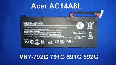 ☆TIGER☆ACER VN7-792G VN7-791G VN7-591G VN7-592G AC14A8L 原廠電池 台中市