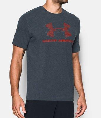 UA Under Armour HG S.S. Blow Out Logo 短袖T恤 1289890 008