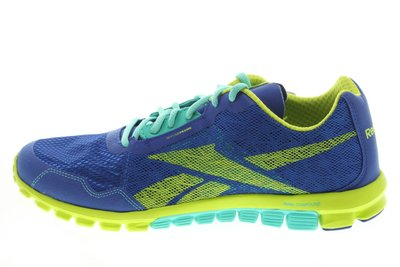 55折零碼出清【千里之行】reebok REALFLEX SCREAM 2.0磚型超輕避震健身房慢跑鞋-寶藍