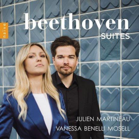 貝多芬 : 組曲 Beethoven Suites / 朱利安馬提諾 & 凡妮莎---V7083
