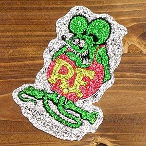 (I LOVE樂多)原版經典款RAT FINK RF老鼠芬克 金蔥貼紙