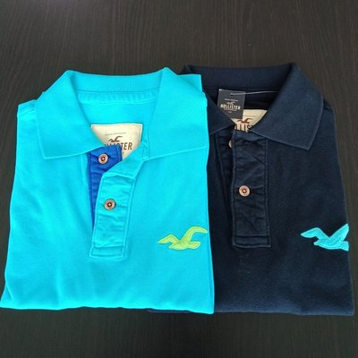 【BJ.GO】Hollister _男裝_PACIFIC COAST POLO 復古海鷗刺繡POLO衫