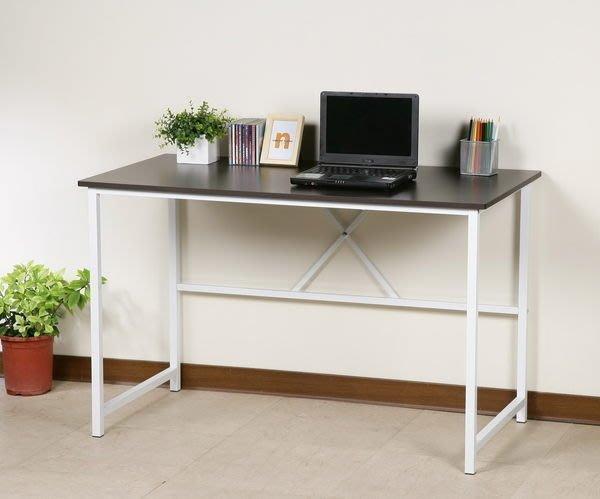 120防潑水穩固耐用電腦桌 工作桌 書桌~25mm粗鐵管【馥葉】型號DE017 可加購玻璃、鍵盤架、抽屜