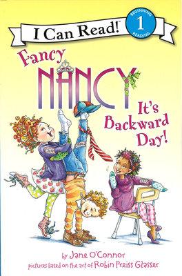 *小貝比的家*FANCY NANCY IT'S A BACKWARD DAY /L1/平裝/3~6歲