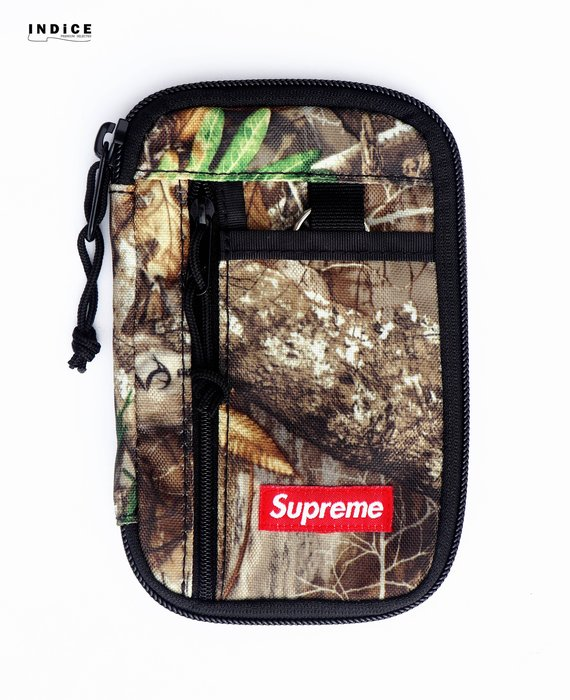 INDiCE↗ Supreme 2019 FW 47TH Small Zip Pouch 零錢包/護照夾 落葉迷彩