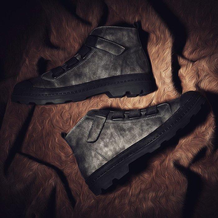 【超特價】馬丁靴源頭好貨|2018秋冬新品男士馬丁靴真皮運動工裝板鞋高幫男式皮靴休閒
