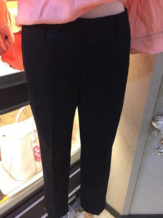 典精品名店 Burberry 全新 真品 黑色 西裝褲  七分褲 尺寸: 36  灰姑娘尺寸 優惠價 現貨