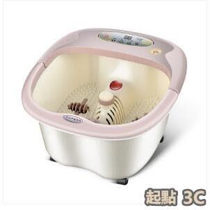『起點3c館』足浴盆加熱恒溫智能足浴器自助按摩泡腳盆氣泡增氧Eb8453
