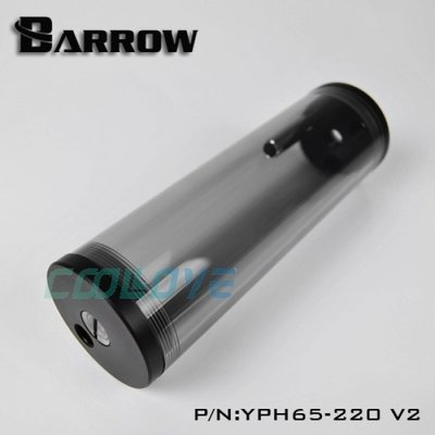 小白的生活工場*Barrow Obsidian 黑曜石系列 65MM圓柱體壓克力水箱 YPH65-220 V2