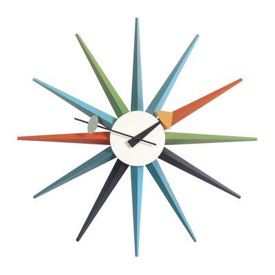 Luxury Life【預購】瑞士 Vitra Sunburst Wall Clock 旭日 壁鐘
