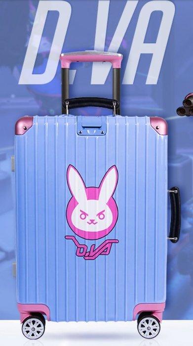 【丹】TB_Overwatch 鬥陣特攻 DVA 豬肉 行李箱 旅行箱 20吋