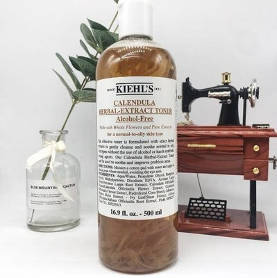 (免稅正品 現貨優惠價)Kiehl's 契爾氏 金盞花化妝水 金盞水500ml 大瓶裝 大容量