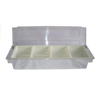 【無敵餐具】電鍍水果盒/保存盒(4格49.8x15.8x9.5cm(BF-03-4S)開店量多可來電洽詢【BBG-17】