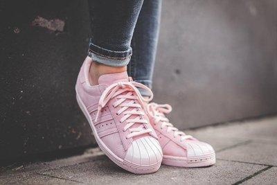 【路克球鞋小天地】愛迪達 ADIDAS Superstar 80s 經典豪華版 金屬貝殼 女神鞋 粉色 銀色 台北市