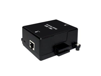 CERIO智鼎【POE-ISP】室內型 Gigabit PoE 直通乙太網路突波疏導保護器