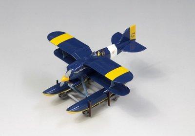 Fine Molds 宮崎駿 紅豬 1/72 R3C-0 非公然水上戰鬥機 完成品 (62502)
