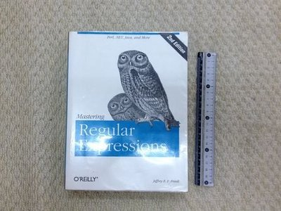 獵戶座【Mastering Regular Expressions, 2/e】ISBN0596002890 J1區