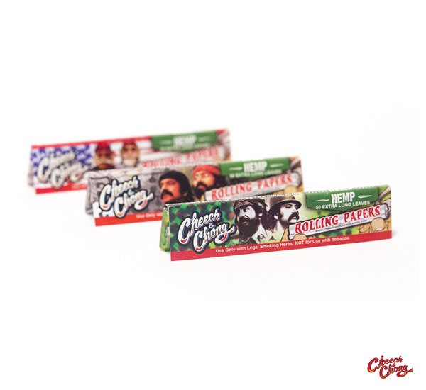 GOODFORIT / Cheech & Chong HEMP  Rolling Papers 1 1/4大麻纖維捲菸紙