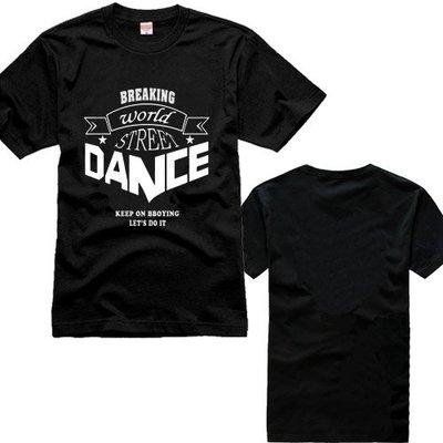 2018年新款 breaking world street dance KOD 街舞 bboy 短袖 T恤 衣服騎行短袖