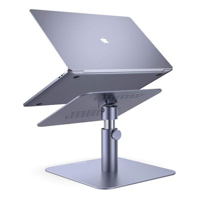 【Lamicall 鋁合金 筆記型電腦底座 筆電散熱架 可調整高度角度】MacBook Air Pro