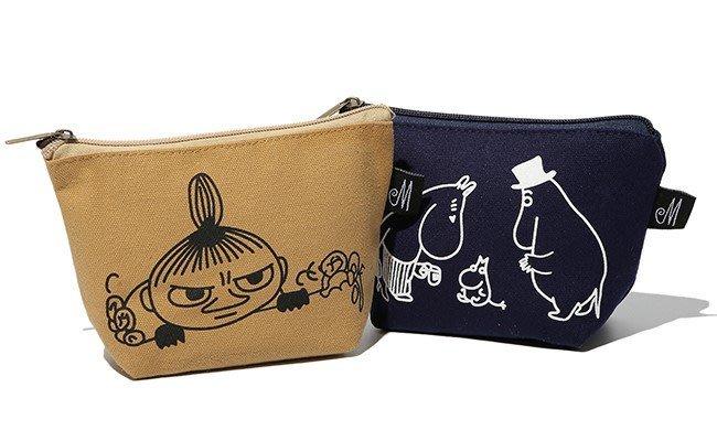 [瑞絲小舖]~ 韓版卡通動漫可愛隨身化妝包(兩款可選) 便攜手包式化妝袋 收纳包 小物包 萬用包 便攜包 筆袋