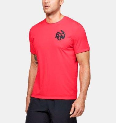男士UA Get Out & Run跑步T恤 1350773-628