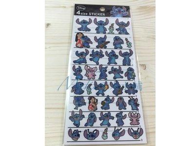 *Miki日本小舖*日本迪士尼史迪奇 造型貼紙 日本製