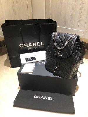 Chanel 香奈兒 底部大雙C 牛皮 後背包(售出)