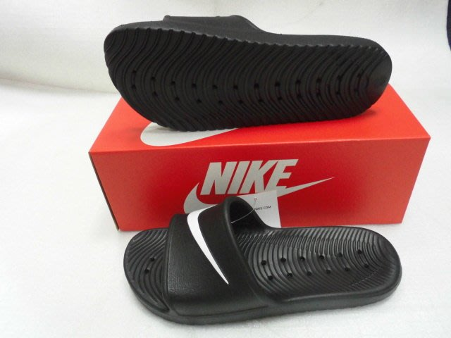 【n0900台灣健立最便宜】2019 NIKE 運動拖鞋 Kawa SHOWER Slide 832528-001(US