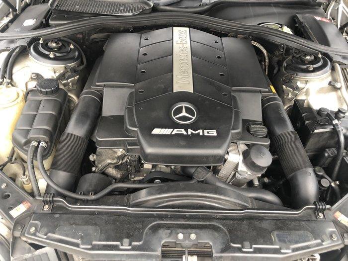 BENZ 2002年 W215 CL55AMG全車零件拆賣 M113引擎