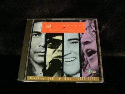 乖乖@賣場~二手CD~BILLBOARD HOTTST HITS1950-1965JINGO.AX302