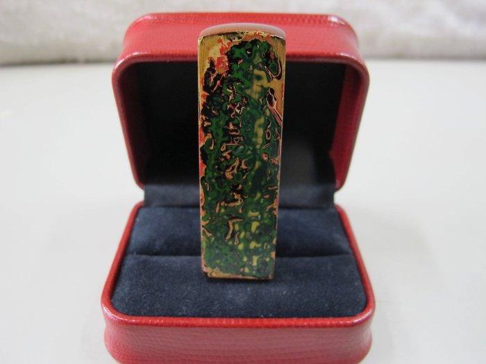 二手舖 NO.268 天然原木 彩繪造型印章 印材 公司章