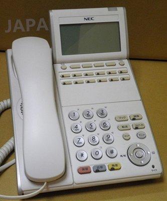 NEC/EDK/IPK/MX100/7400/2000/2400/DTL-12D/12鍵螢幕型話機/保固一年