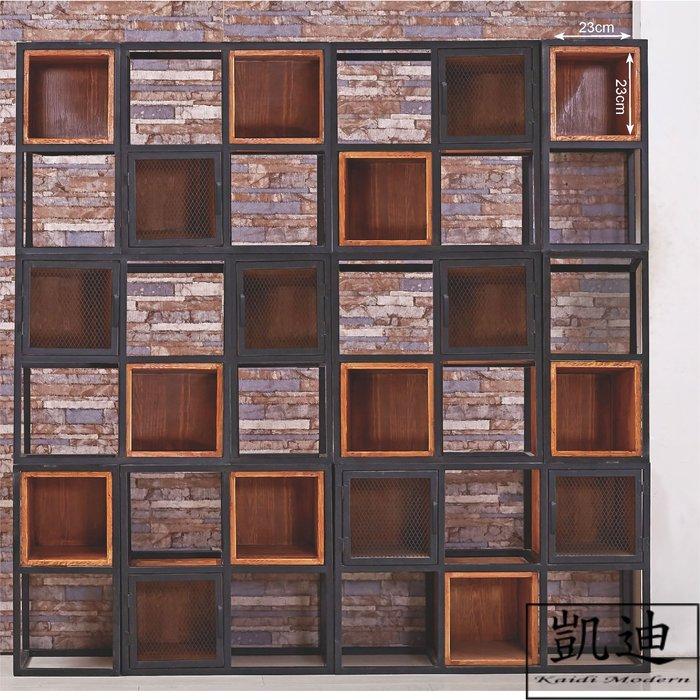 【凱迪家具】M3-356-A麥克6X6尺仿舊層架/桃園以北市區滿五千元免運費/可刷卡