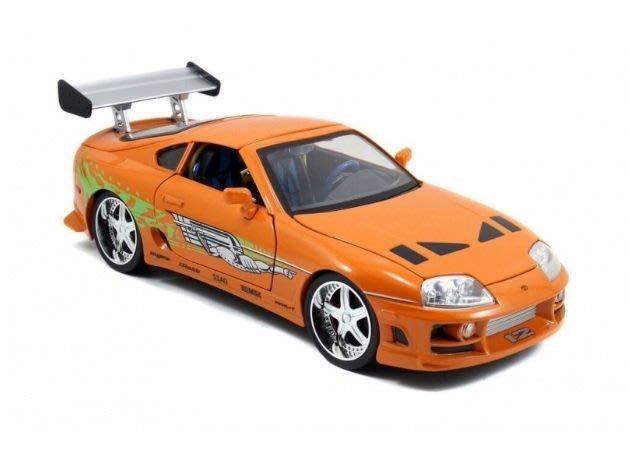 (I LOVE樂多)日本進口JADA 1/24 brian's toyota supra 玩命關頭 模型車