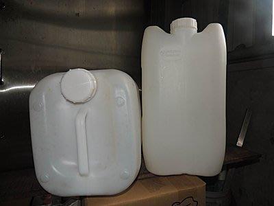 二手 運費買家自理, 加厚型25公斤 耐摔 耐撞 耐壓 四方桶 儲水桶 塑膠桶 水桶