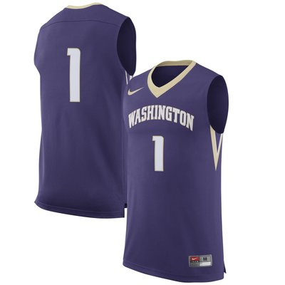 NCAA 華盛頓大學西雅圖分校籃球球衣 Washington Huskies 美國大學 超熱血