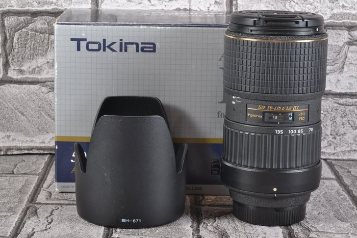 【台中品光攝影】Tokina AT-X 50-135mm F2.8 DX FOR NIKON GK#73060T