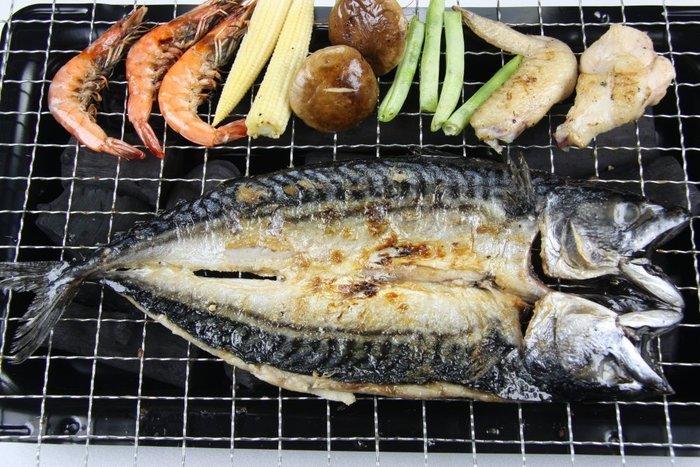 【中秋烤肉】來點不一樣的~烤鯖魚一夜干/ 約300g以上/尾