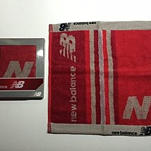 日本版NEW BALANCE毛巾(紅色)