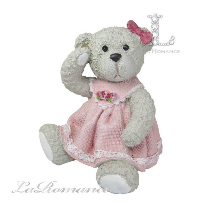 【義大利 Cupido & Company 特惠系列】 白色女生情侶熊 (大) / 泰迪熊 / 童趣動物