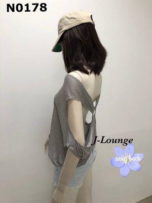N0178 全新露背造型性感海灘罩衫泳衣衝浪外搭踢恤 sexy back t-shirt J-Lounge