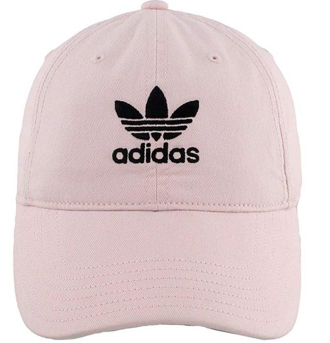 預購 美國帶回 ADIDAS Originals 三葉草 單寧 淺粉紅 老帽 棒球帽 休閒帽 遮陽帽