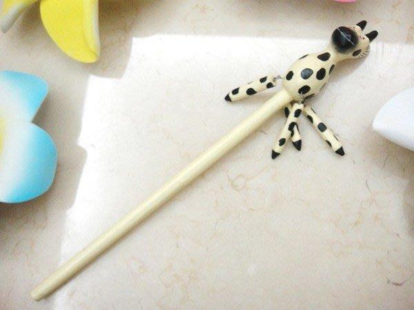 Y【永晴峇里島】巴里島長頸/猴子鉛筆吊飾/擺飾/公仔,居家,民宿,飯店都好用-筆1