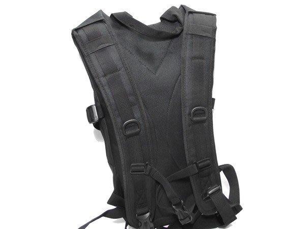 【翔準軍品AOG】【特戰水袋背包-W006黑色】外袋可可以後背可裝雜物