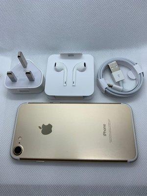 95新 4.7吋 iPhone7 32GB 金色 Gold Open line  Unlock