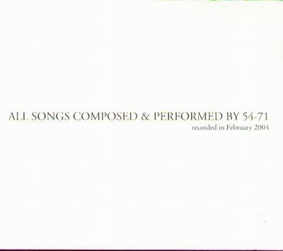 K - 54-71 - ALL SONGS COMPOSED&PERFORMED - 日版 - NEW