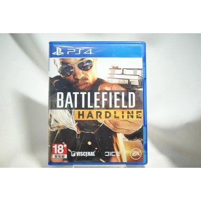 [耀西]二手 亞版 SONY PS4 戰地風雲:強硬路線 Battlefield: Hardline 含稅附發票