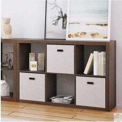 『格倫雅』格子櫃子收納櫃現代簡約儲物櫃創意自由組合格子櫃客廳書櫃置物架(6格)^23503